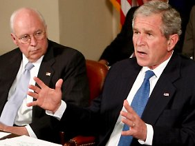 Dick Cheney war der starke Mann hinter George W. Bush.