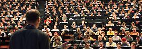 Der Traum eines jeden Dozenten: ein voller Hörsaal.