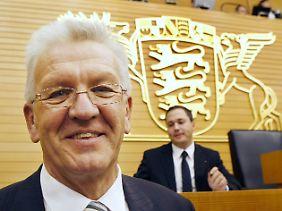 Baden-Württembergs neuer Mininsterpräsident: Winfried Kretschmann.