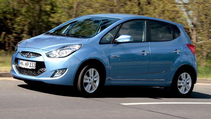 Hyundai baut aus und schickt die Hochdachlimousine ix20 ins Rennen.