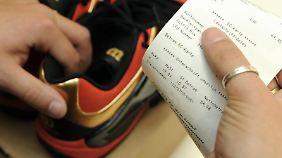 Als Nachweis könnte etwa eine Notiz auf dem Kassenzettel dienen.