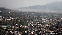 Blick über Abbottabad.