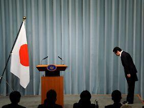 Journalisten sprechen von einem Informations-GAU der japanischen Regierung.