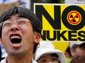 Für Japan noch recht ungewöhnlich sind Anti-AKW-Proteste mit tausenden Teilnehmern.
