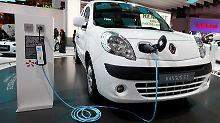 Am Netz: Renault Kangoo Express ZE.