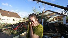 Sturm-Serie geht weiter: Tornado fegt Kleinstadt fort