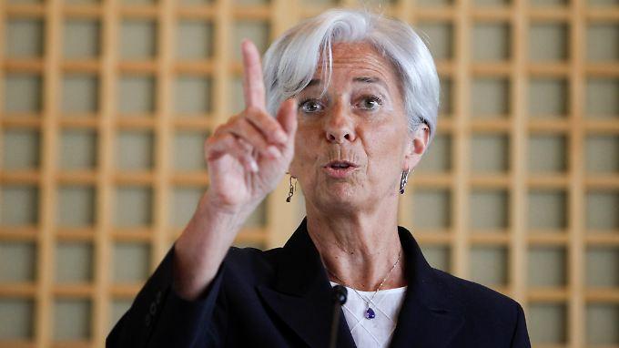 """""""Eine qualifizierte Dame"""": Lagarde kandidiert als IWF-Chefin"""