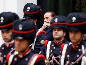 Berlusconi möchte an der Atomkraft festhalten.