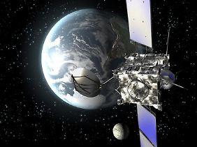 """Am 8. Juni wird der ESA-Satelliten """"Rosetta"""" das letzte Kommando empfangen."""
