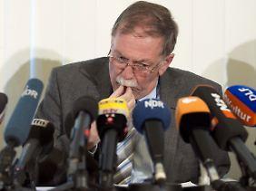 Niedersachsens Landwirtschaftsminister Lindemann informiert über die Ergebnisse.