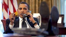 Immer für einen Spaß zu haben: US-Präsident Obama.