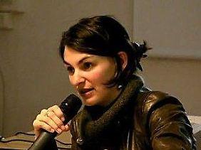 """Die """"andere"""" Kandidatin aus Frankreich: Aurélie Trouvé."""