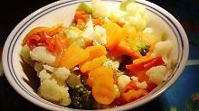 Gemüse lässt sich auch dünsten.