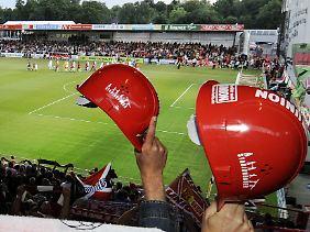 Ein deutscher Fußballtempel: die Alte Försterei - gebaut von und für Fans.