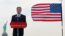 Jon Huntsman war Gouverneur von Utah und Obamas Botschafter in China.