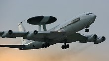 Die AWACS-Soldaten der Bundeswehr sind wieder in Geilenkirchen.