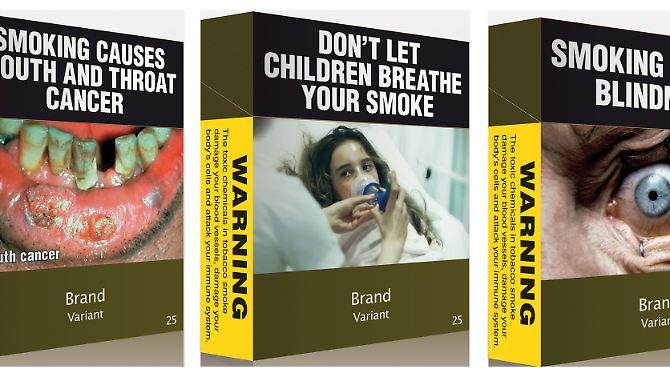 Neues Tabakgesetz in den USA: Ekelbilder sollen Raucher abschrecken