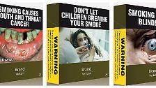 Im Kampf gegen das Rauchen setzt Australien auf Abschreckung.