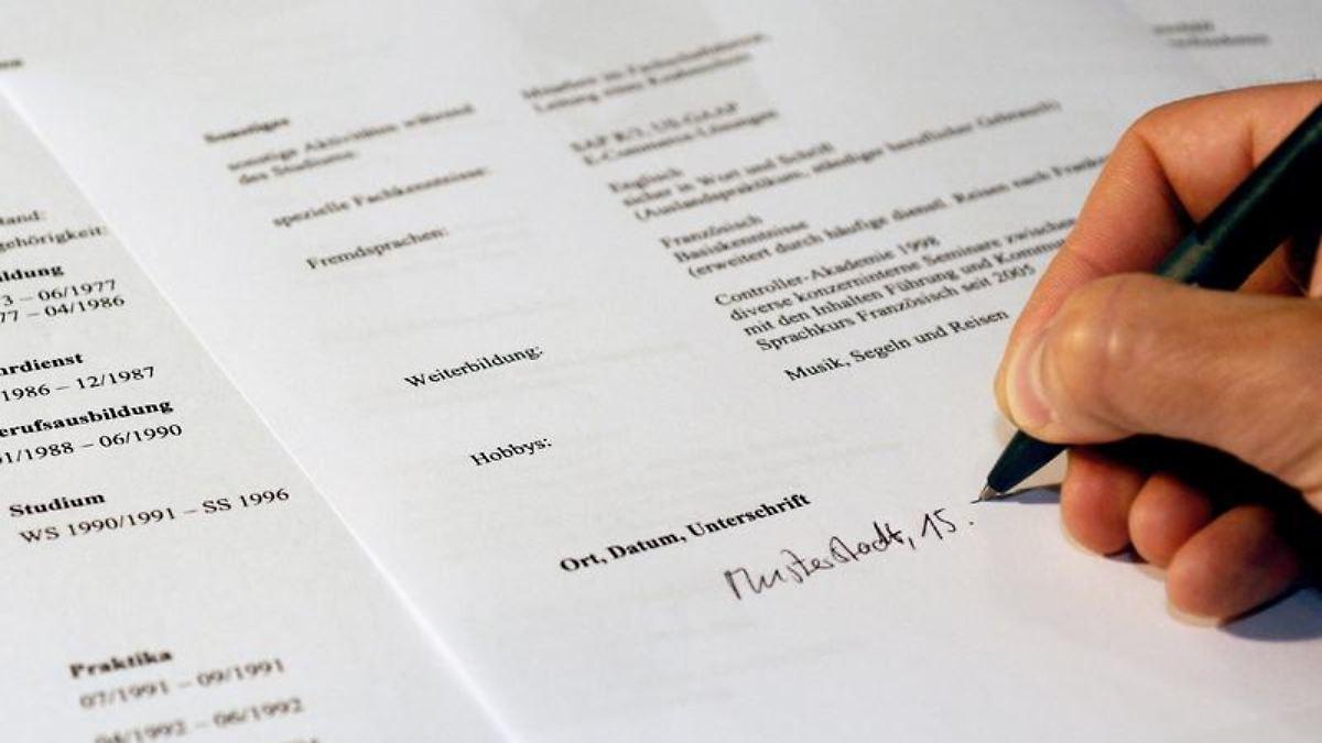 beruf online bewerbung kursiver name als unterschrift n tvde - Tedi Online Bewerbung