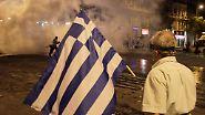 Straßenschlachten in Athen: Tausende fliehen in Panik