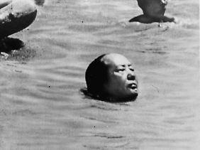 Mao schwimmt im Jangtse. Danach bricht in China das große Chaos aus.