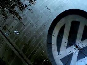 Der Todesstern VW (Screenshot).