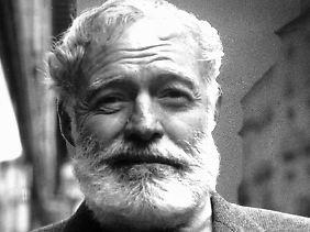 Porträt des Künstlers als Mann: Ernest Hemingway.