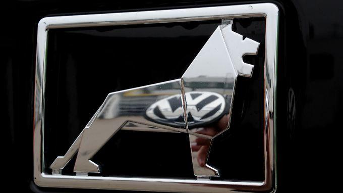Der Löwe und die Wolfsburger: MAN gehört zum VW-Konzern.