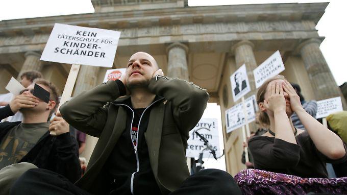 Protest leider erfolglos: Die Argumente der Internetgemeinde konnten die Netzsperren nicht verhindern.