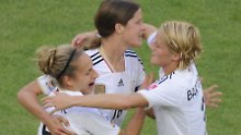 Kerstin Garefrekes: zwei WM-Tore in vier Spielen sind eine ordentliche Bilanz. Das findet auch die FIFA.