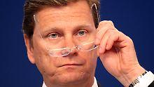 Steht hinter seiner EU-Frau: FDP-Chef Westerwelle.