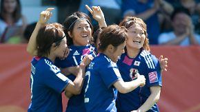 Japan und USA im Finale: Gewinnernagellack schon aufgetragen