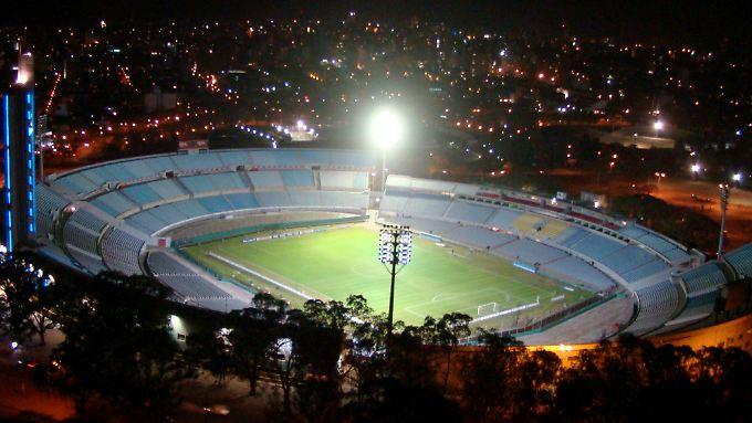 Im Estadio Centenario holten die Urus 1930 vor 80.000 Zuschauern ihren ersten Weltmeistertitel.