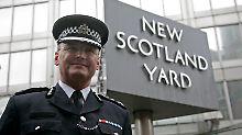 Gefallen: Stephenson war oberster Polizist Londons.