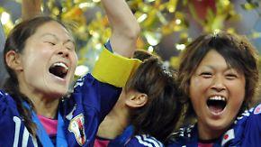 Außenseiter besiegt die USA: Japanerinnen holen WM-Pokal