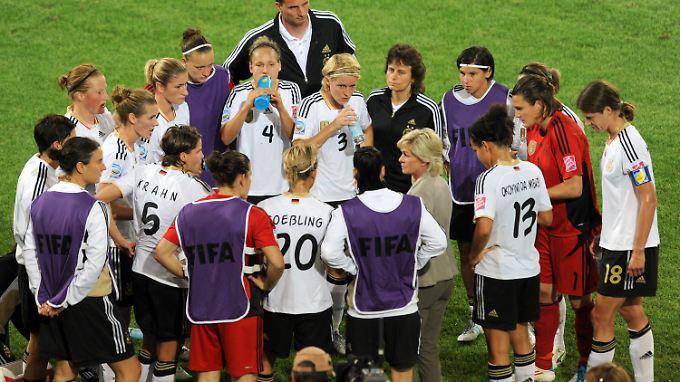 Das deutsche Team bei der WM im vergangenen Jahr.