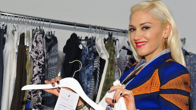 Sängerin Gwen Stefani entwirft schon länger Kleidung - nun erstmals auch für Kinder.