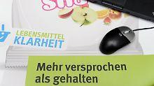 Täuschungen am Verbraucher: Lebensmittelklarheit.de macht weiter