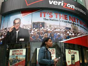Bei Verizon fürchtet man auf Grund des Deals um Zukunft.