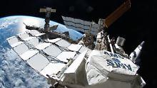 Die ISS ist das größte künstliche Objekt im Erdorbit.