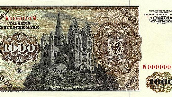 Solide wie der Dom zu Limburg? Die gute alte D-Mark.