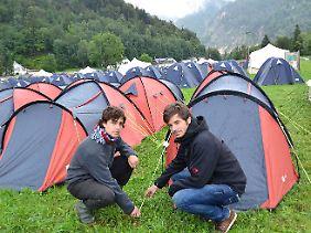 Mehr als 2000 Jungsozialisten wollen für eine Woche dort campen.