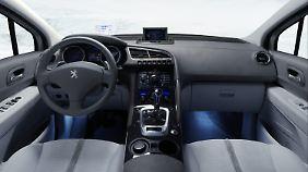 Blick in die Zukunft: Das Cockpit des Prologue Hybrid4.