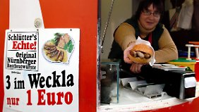 """""""3 im Weckla"""": Nicht nur in Bayreuth eine leckere Spezialität."""