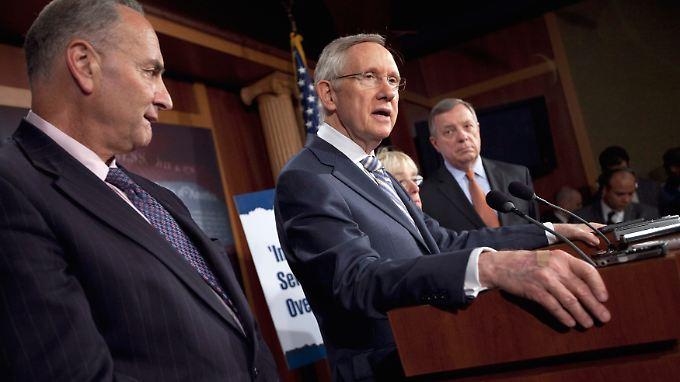 Parteien unversöhnlich: Schuldenstreit lähmt die USA