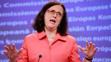 EU-Kommissarin Cecilia Malmström kritisiert schwierige Verhandlungen.