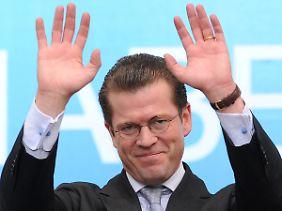 In den USA wird er noch gewürdigt: Karl Theodor zu Guttenberg.