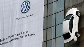 Bei VW scheint es momentan nur nach oben zu gehen.