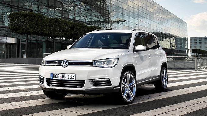 Das Passat-SUV überragt sogar den VW Touareg.