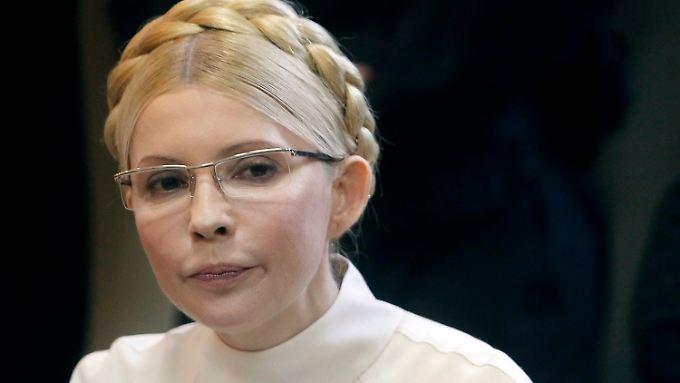 Timoschenko muss mal wieder ins Gefängnis.
